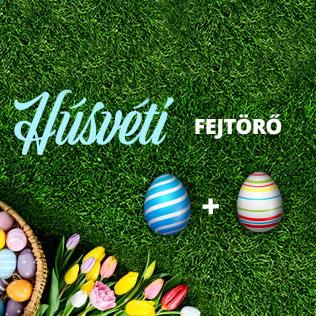 Húsvéti Fejtőrő nyereményjáték sorsolási eredmény
